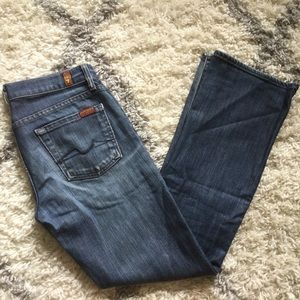 7 for All Mankind bootcut Denim Jeans size 26